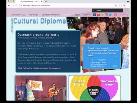 Cultural Diplomat?  So they say...