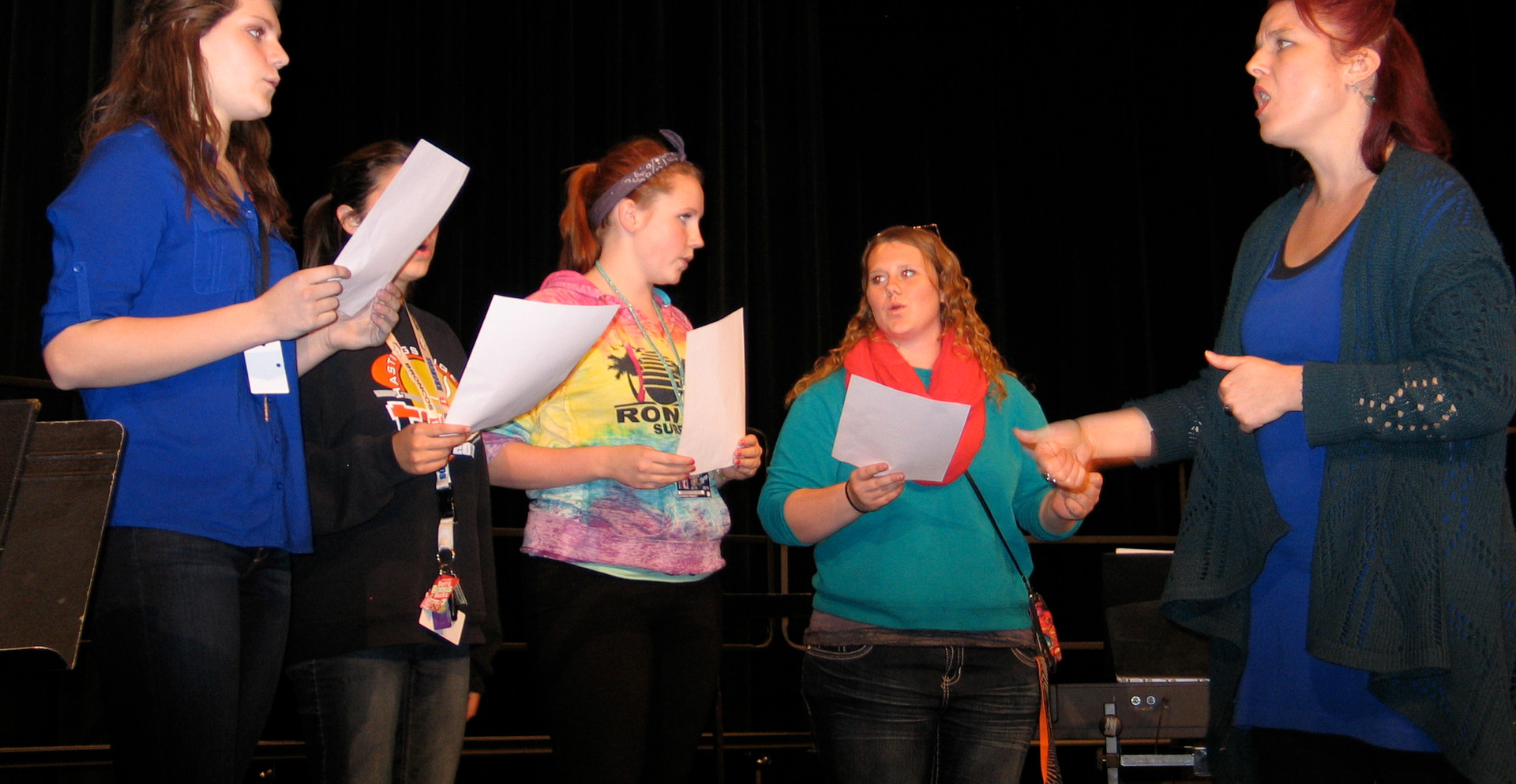 Coaching Backing Vox - Hastings H.S.