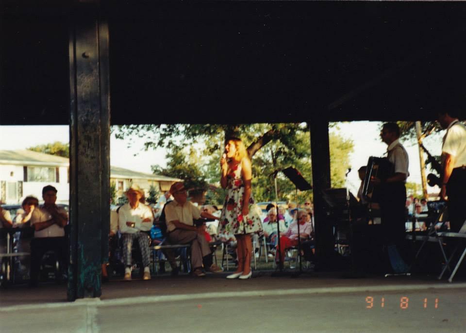 Big Band Début with Grandpa