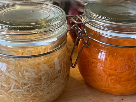 Lacto-fermentation de légumes