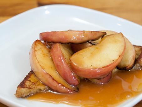 Spécial fêtes - Désert pain de mie à la pomme