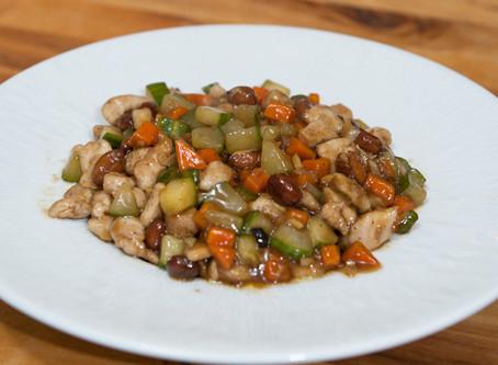 Sauté de poulet aux légumes