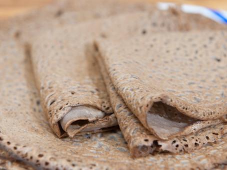 Galettes de sarrasin au cidre brut