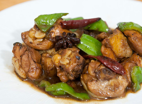 Cuisses de poulet épicées