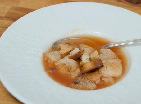 Soupe à la tomate - Recette 1930
