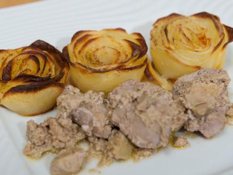 Filet mignon de porc au foie gras