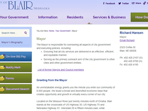 Mayor Rich Hansen: April 14