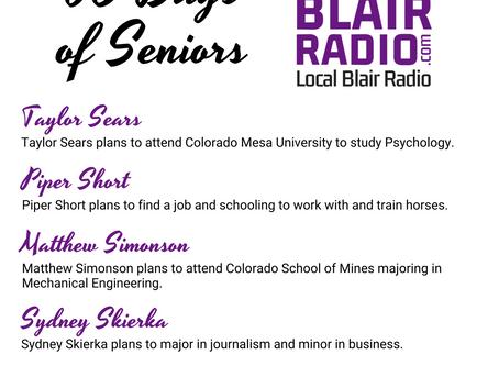 Senior Spotlight: August 3