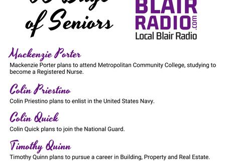 Senior Spotlight: July 28