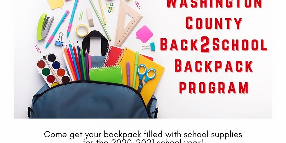 Washington County Back2School Backpack Program