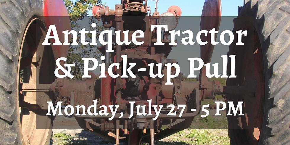 Antique Tractor & Pick-up Pull