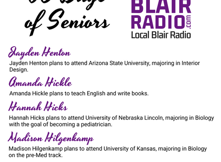Senior Spotlight: July 9