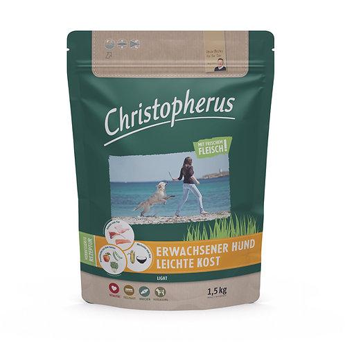 Trockenfutter - Christopherus - Erw.Hund - Leichte Kost - Geflügel + Reis