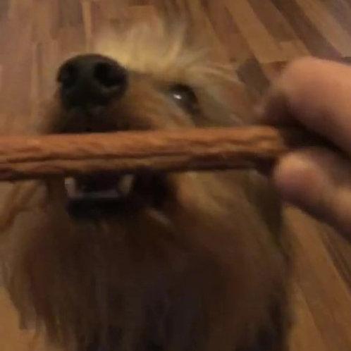 Kaninchen-Zigarre, Hunde-Kauartikel, Hunde-Kau-Snack, Leckerchen, Trockenkauartikel, Belohnungshappen