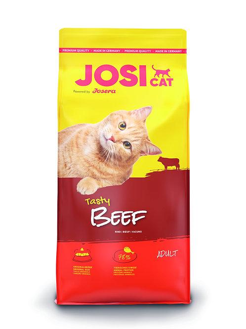 Trockenfutter - JosiCat - Tasty Beef, Haustier-Schlaraffenland, JosiCat, Katzenfutter