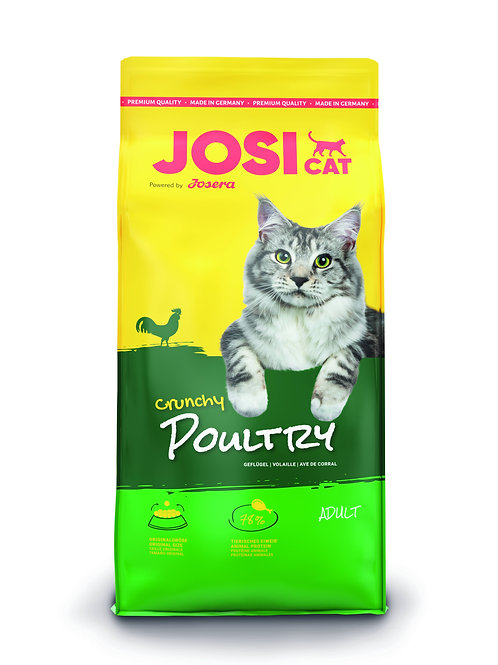 Trockenfutter - JosiCat - Crunchy Poultry; Haustier-Schlaraffenland,  JosiCat, Katzenfutter