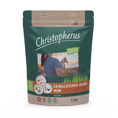 Trockenfutter - Christopherus - Erwachsener Hund - Mini