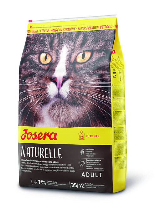 Trockenfutter - Josera -Naturelle, Haustier-Schlaraffenland, Josera, Katzenfutter