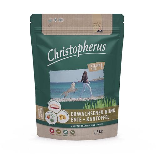 Trockenfutter - Christopherus - Erwachsener Hund - Getreidefrei-Ente & Kartoffel