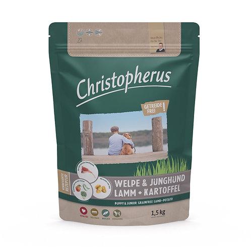 Trockenfutter - Christopherus - Welpe & Junghund-Getreidefrei-Lamm & Kartoffel