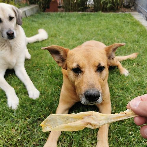 Kaninchen-Ohren, Hunde-Kauartikel, Hunde-Kau-Snack, Leckerchen, Trockenkauartikel, Belohnungshappen