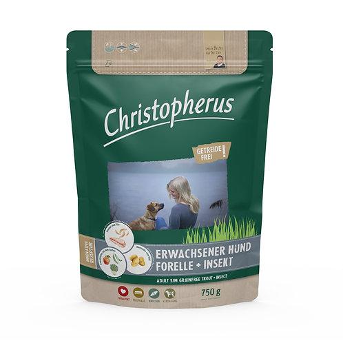 Trockenfutter - Christopherus - Erwachsener Hund - Forelle & Insekt