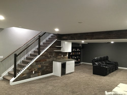 Residential Basement Finish
