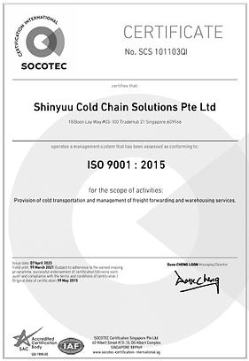 Shinyuu ISO9001