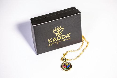Dije Kadda Dorado Multicolor