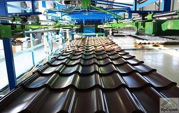 Металочерепица производство