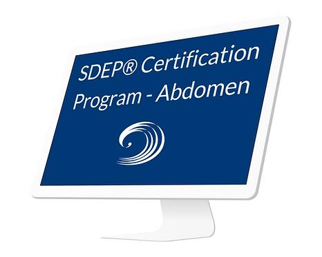 SDEP® Abdomen Certification