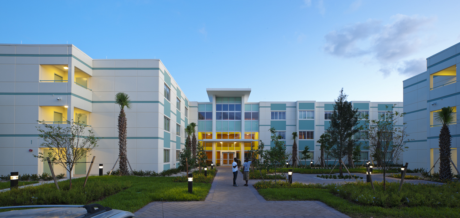 Florida Memorial University Living & Learning Residence Hall 3