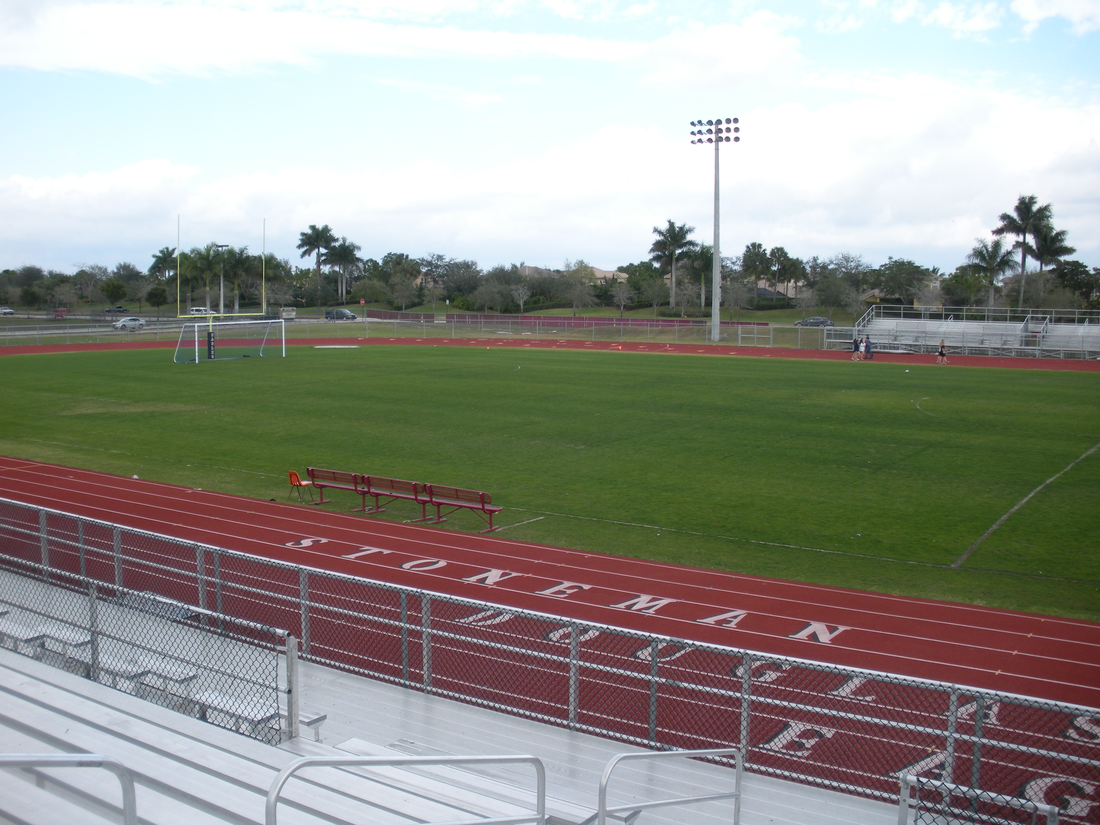 Stoneman Douglass Track