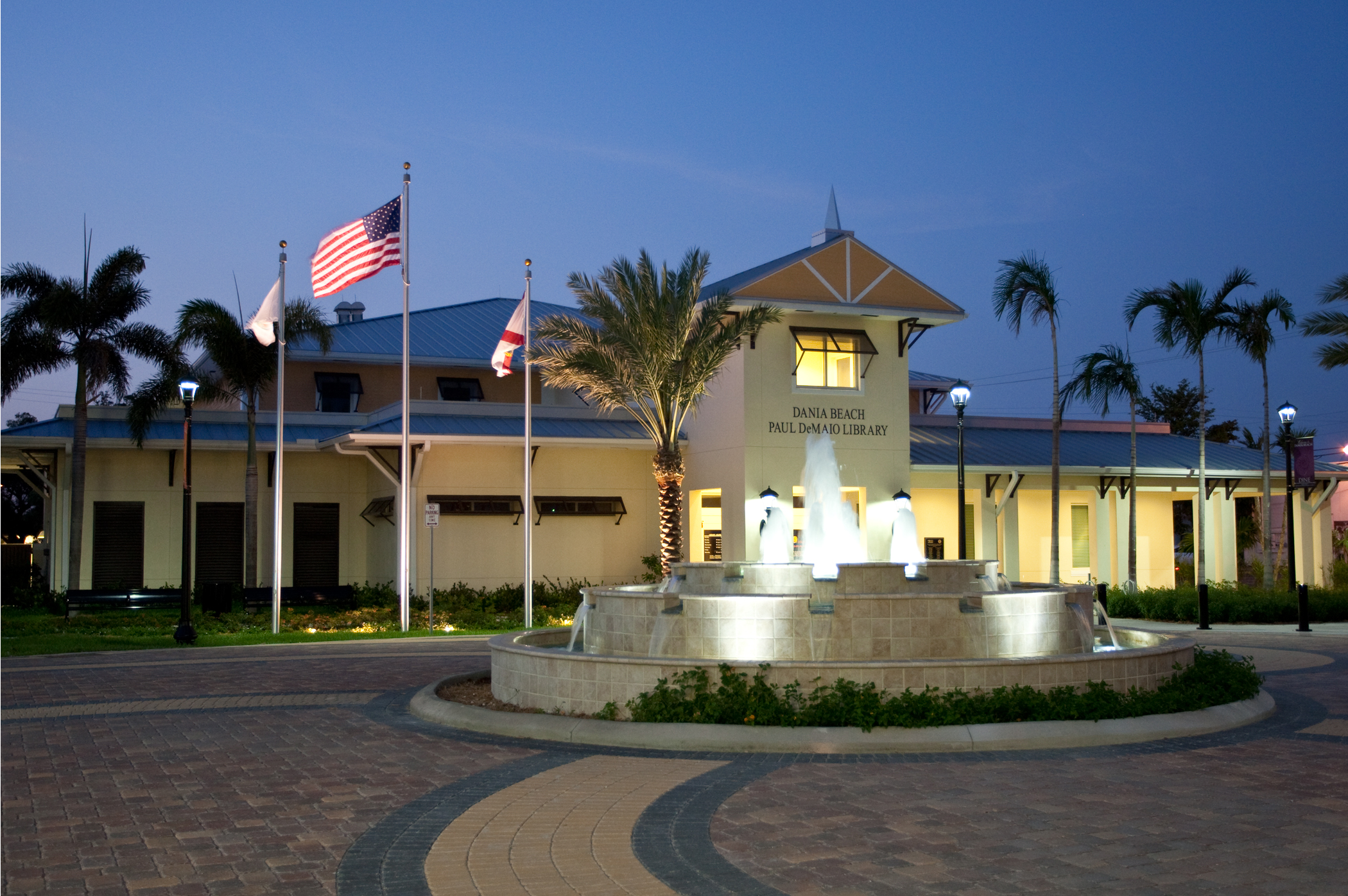City of Dania Beach Paul DeMaio Library