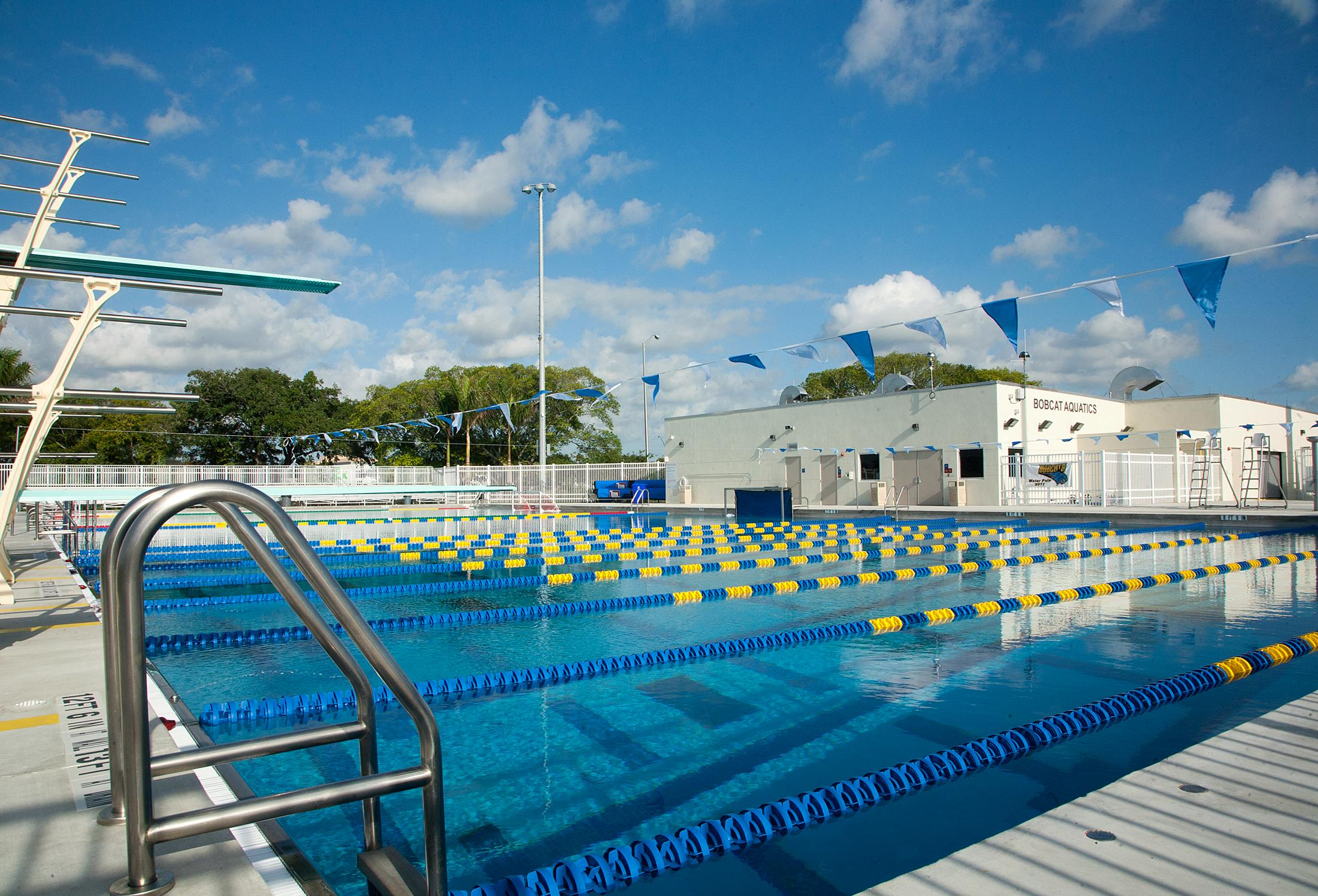 Boca Raton High School Aquatic Complex