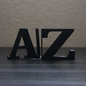 3D printed bookends