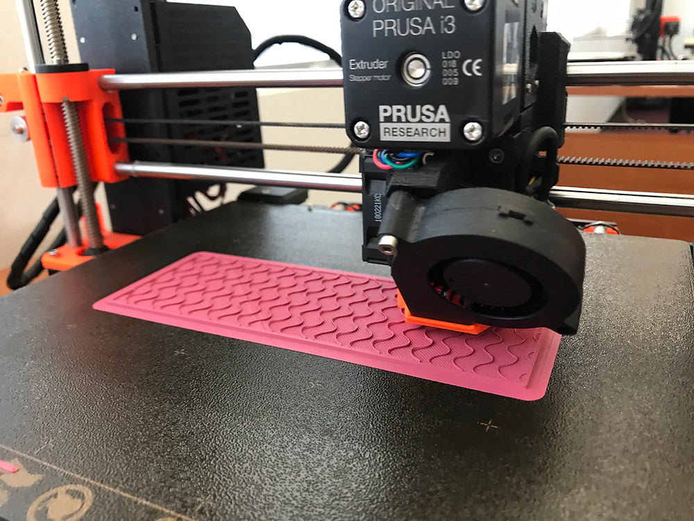 Prusa i3 printing using HIPS filament