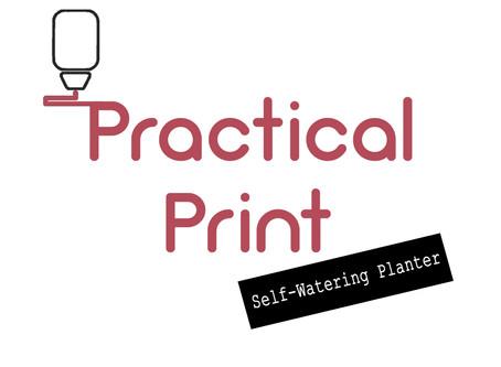 Practical Print: Self-Watering Planter