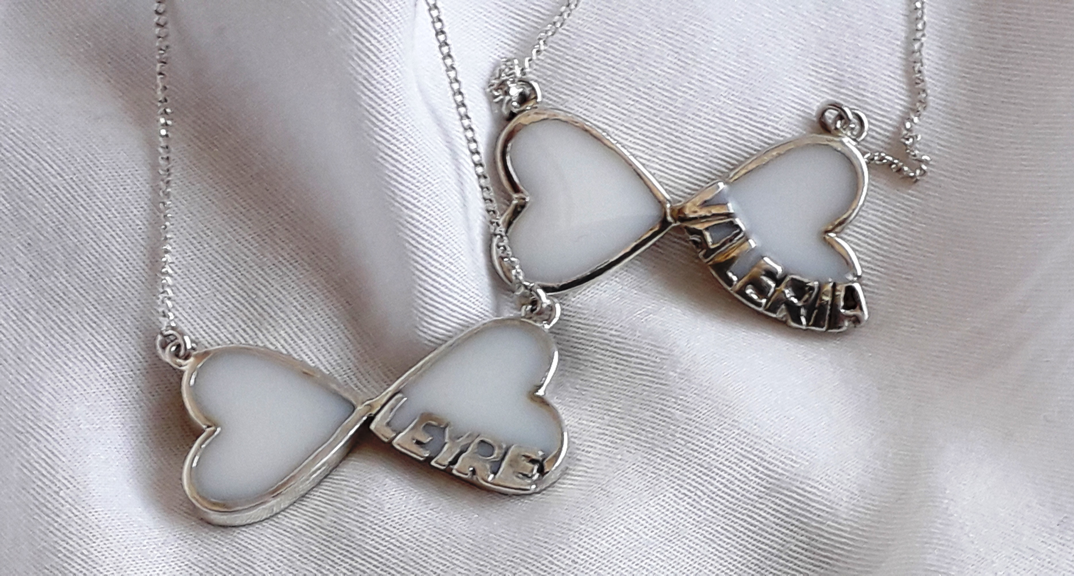 Corazón infinito con nombre