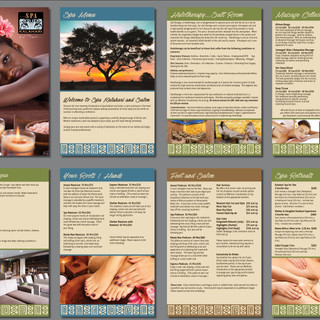Spa Kalahari Corporate Brochure