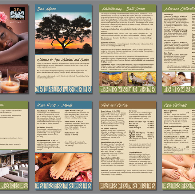 Spa Kalahari Corporate Brochure