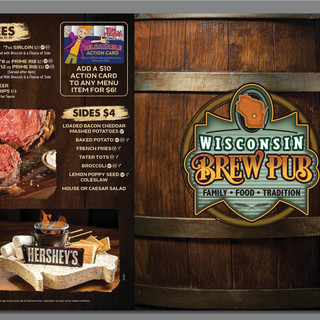 Wisconsin Brew Pub Menu
