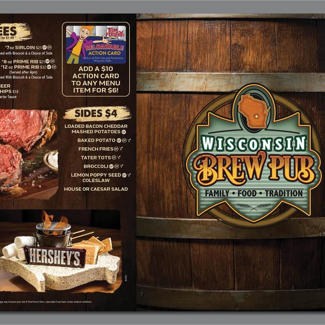 Wisconsin Brew Pub Menu