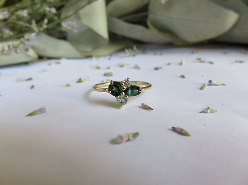 Moss Cluster Ring