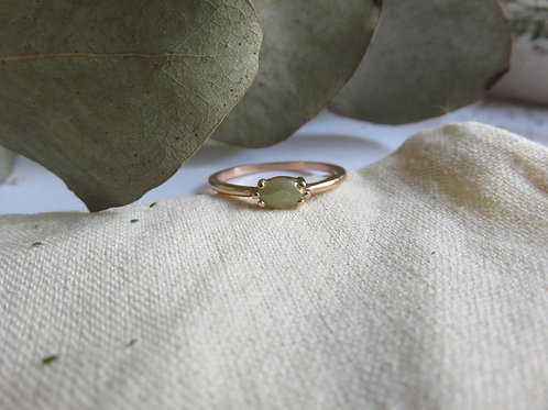 Salt and Pepper Marquise Diamond in 9ct Rose Gold Ring