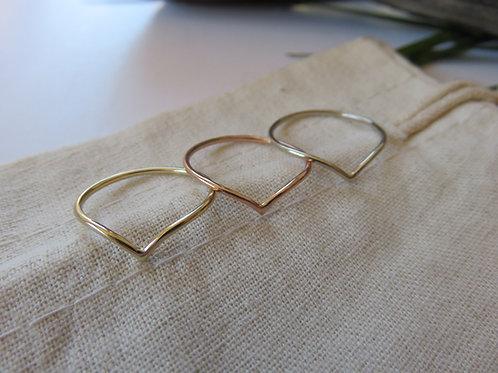 Bestowal Gold or Silver Ring