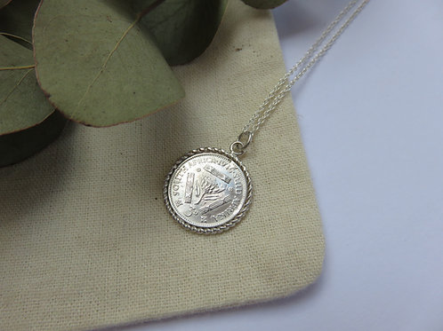 Silver Tickey Necklace