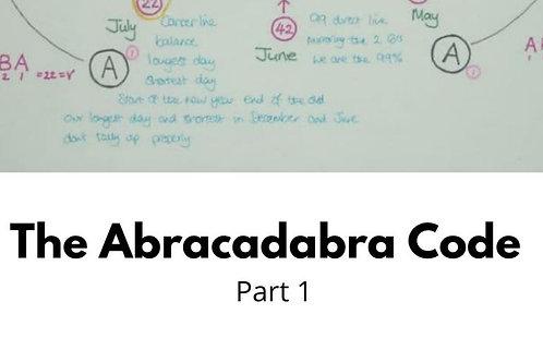 Abracadabra Code Part 1 pdf