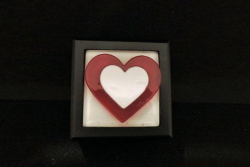 M08 Double Heart Trinket Box