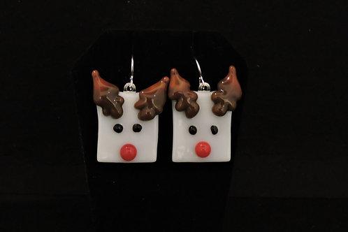 H43 Rudy Reindeer Earrings